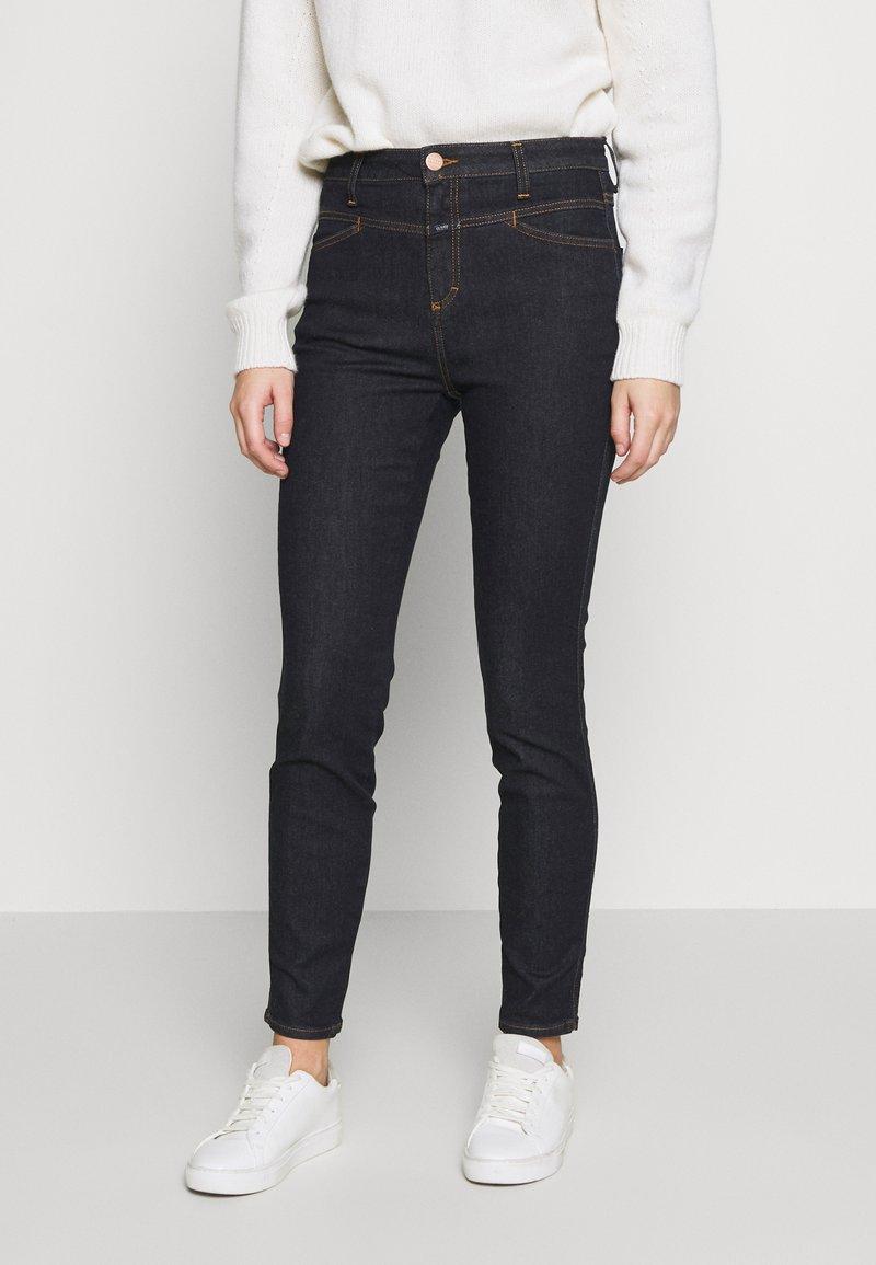 CLOSED - SKINNY PUSHER - Skinny džíny - dark blue