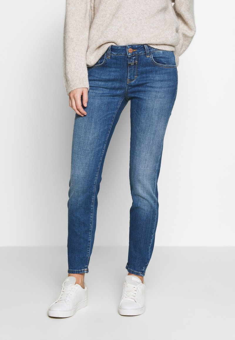 CLOSED - BAKER LONG - Jeans Skinny Fit - mid blue