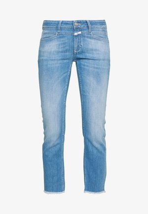 STARLET - Flared jeans - mid blue