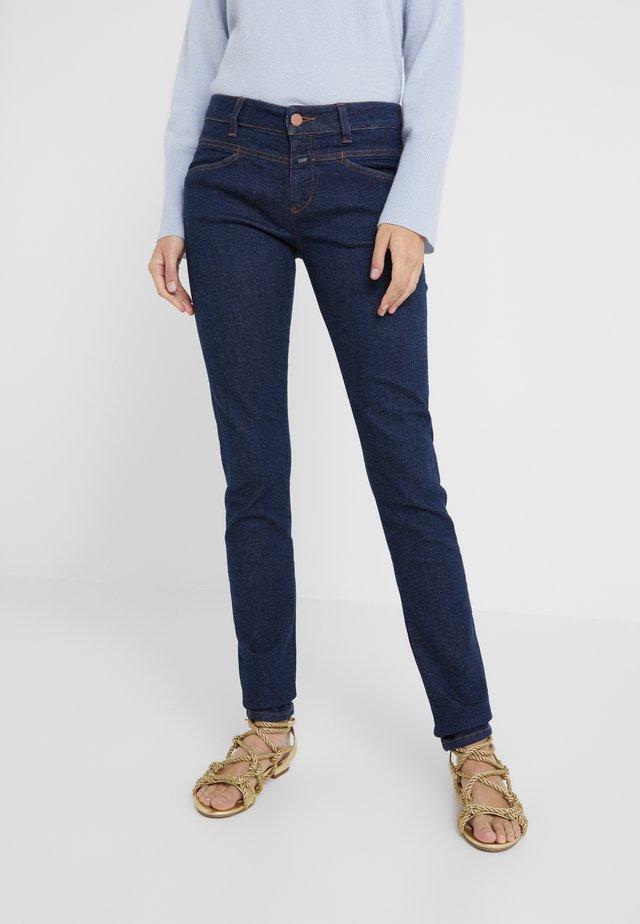 STACEY X - Jeans slim fit - dark blue