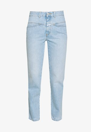 PEDAL PUSHER - Relaxed fit jeans - light blue
