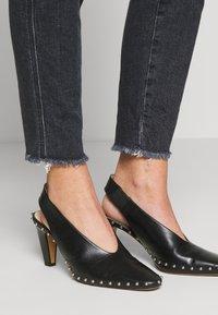 CLOSED - SKINNY PUSHER - Jeans Skinny Fit - dark grey - 5