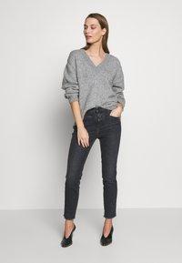 CLOSED - SKINNY PUSHER - Jeans Skinny Fit - dark grey - 1
