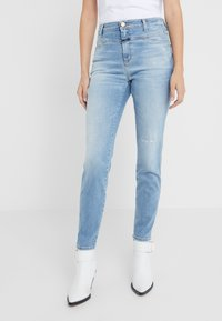 CLOSED - SKINNY PUSHER - Skinny džíny - mid blue - 0