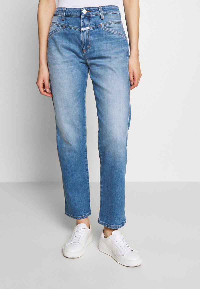 CLOSED - CROPPED X - Relaxed fit jeans - mid blue