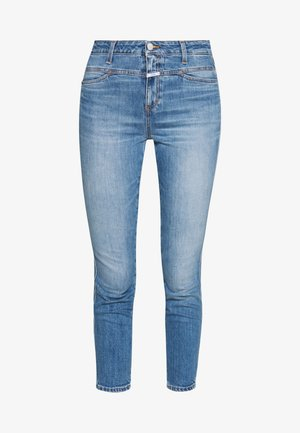 SKINNY PUSHER - Skinny-Farkut - blue denim