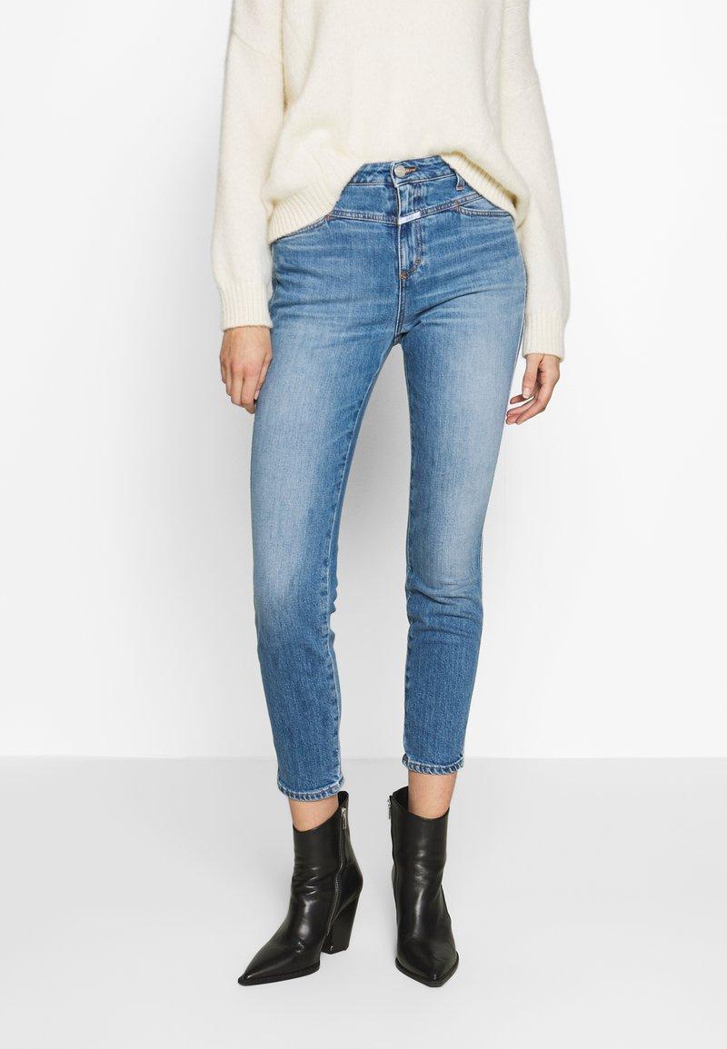 CLOSED - PUSHER - Jeans Skinny Fit - blue denim