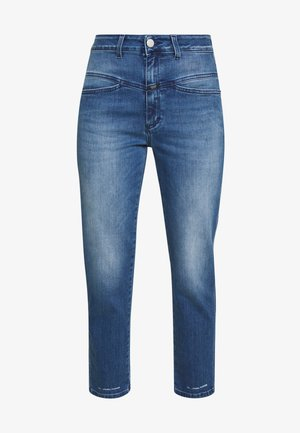 PEDAL PUSHER - Vaqueros boyfriend - blue denim