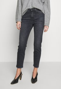 CLOSED - BAKER HIGH - Slim fit jeans - dark grey - 0