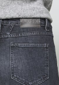 CLOSED - BAKER HIGH - Slim fit jeans - dark grey