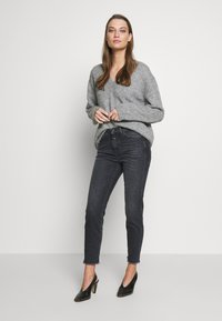 CLOSED - BAKER HIGH - Slim fit jeans - dark grey - 1