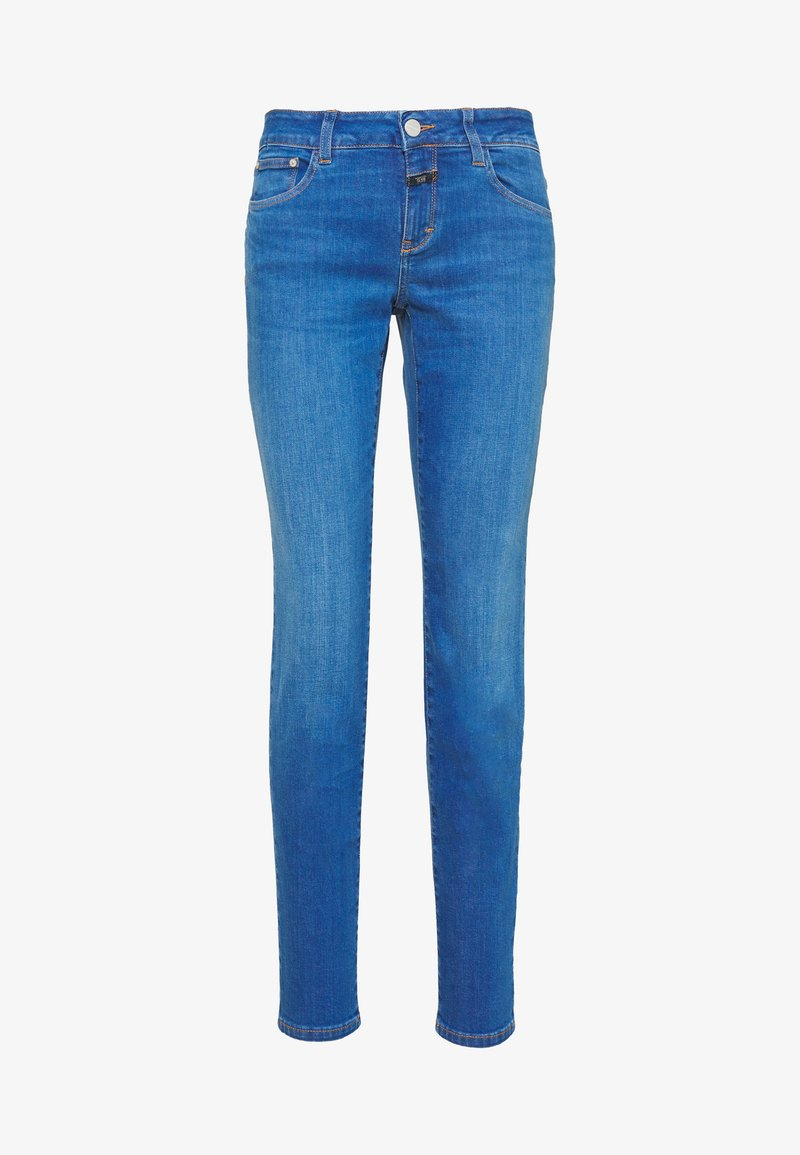CLOSED - BAKER LONG MID WAIST REGULAR LENGTH - Džíny Slim Fit - mid blue