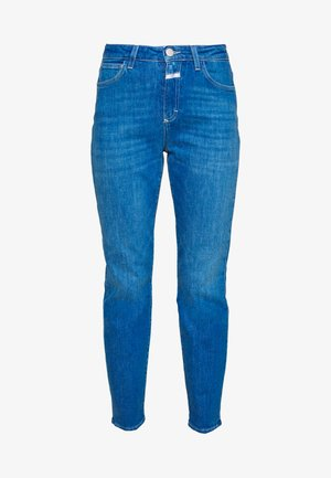 BAKER HIGH HIGH WAIST CROPPED LENGTH - Slim fit jeans - mid blue