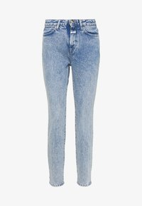 CLOSED - BAKER HIGH WAIST CROPPED LENGTH - Slim fit jeans - mid blue - 4