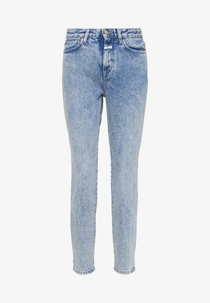 BAKER HIGH WAIST CROPPED LENGTH - Jeans Slim Fit - mid blue