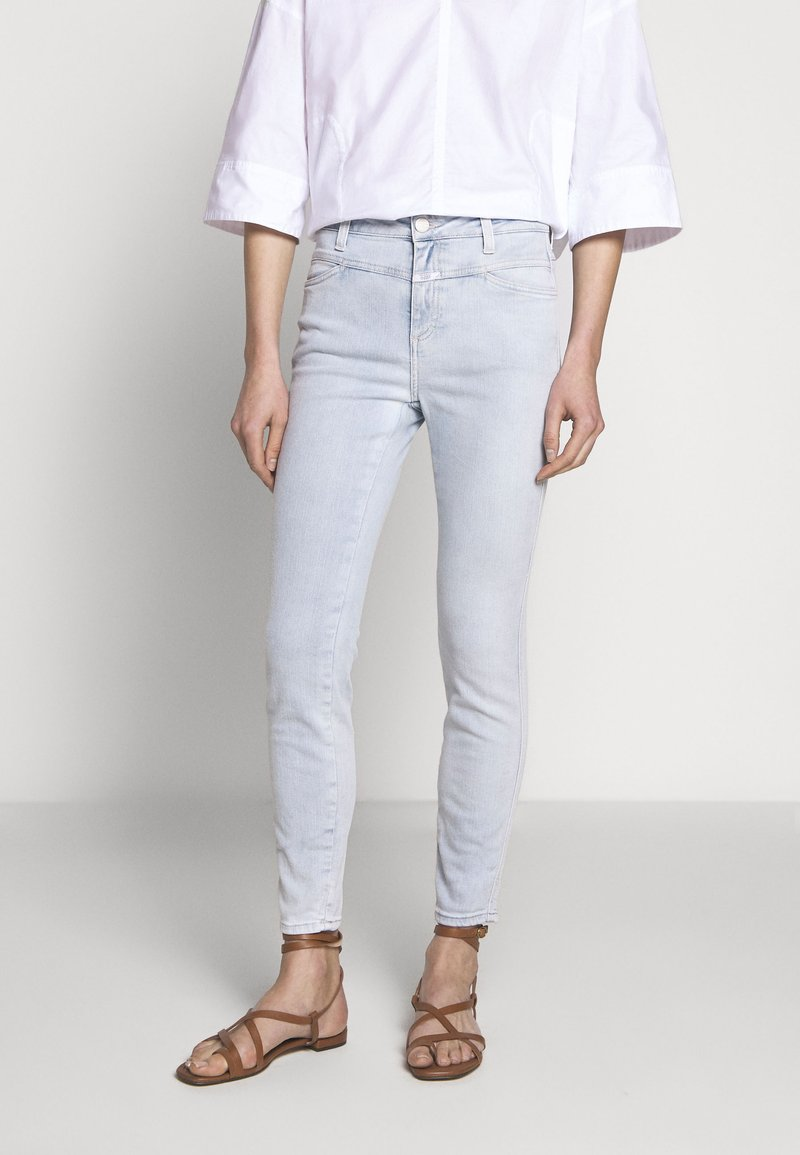 CLOSED - PUSHER HIGH WAIST CROPPED - Jeans Skinny Fit - extrem light