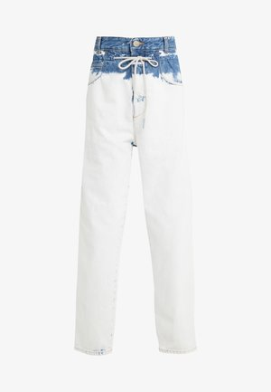 LEXI HIGH WAIST LONG LENGTH - Jeans baggy - extrem light