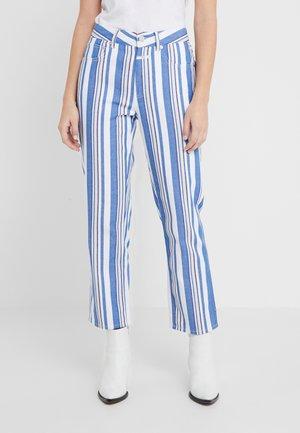 GLORIA - Pantalon classique - bluebird