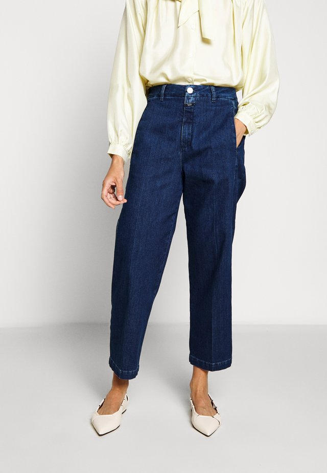 LUDWIG - Jeansy Straight Leg - dark blue
