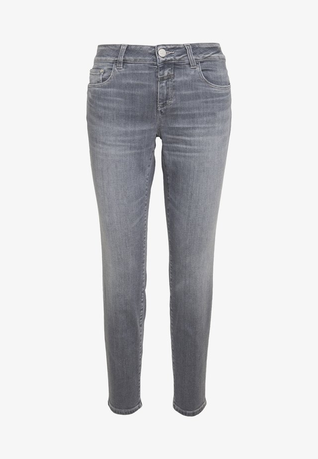 BAKER - Jeansy Slim Fit - mid grey