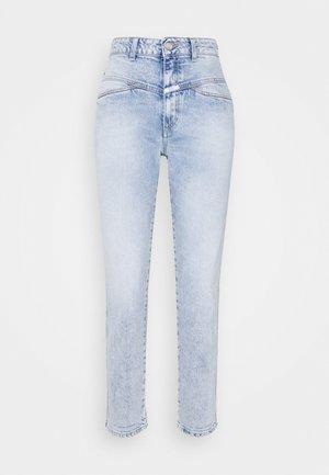 PEDAL PUSHER - Straight leg jeans - light blue