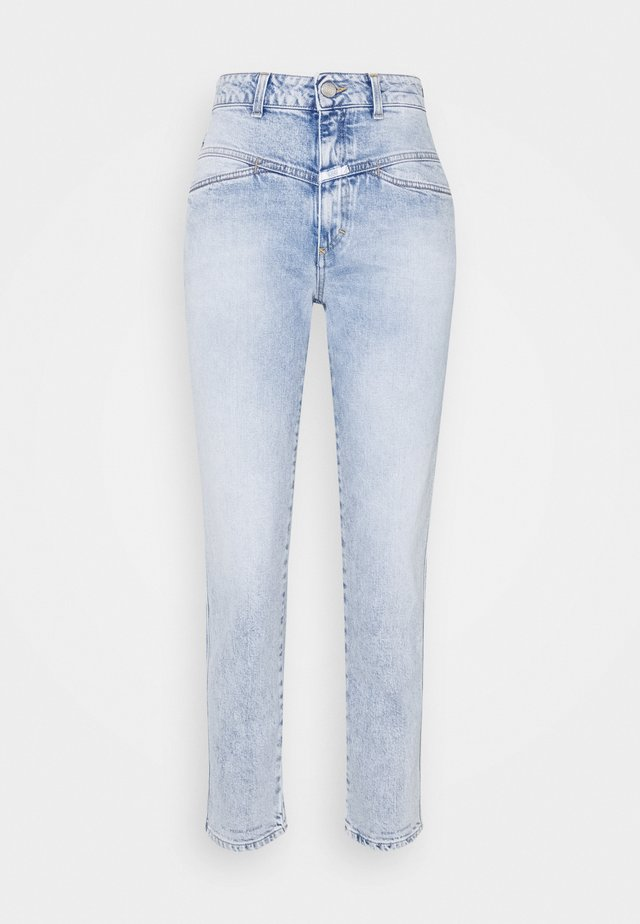 PEDAL PUSHER - Jeansy Straight Leg - light blue