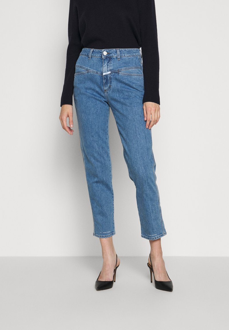 CLOSED - PEDAL PUSHER - Straight leg jeans - mid blue