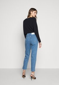 CLOSED - PEDAL PUSHER - Straight leg jeans - mid blue - 2