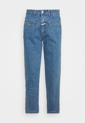 PEDAL PUSHER - Straight leg jeans - mid blue