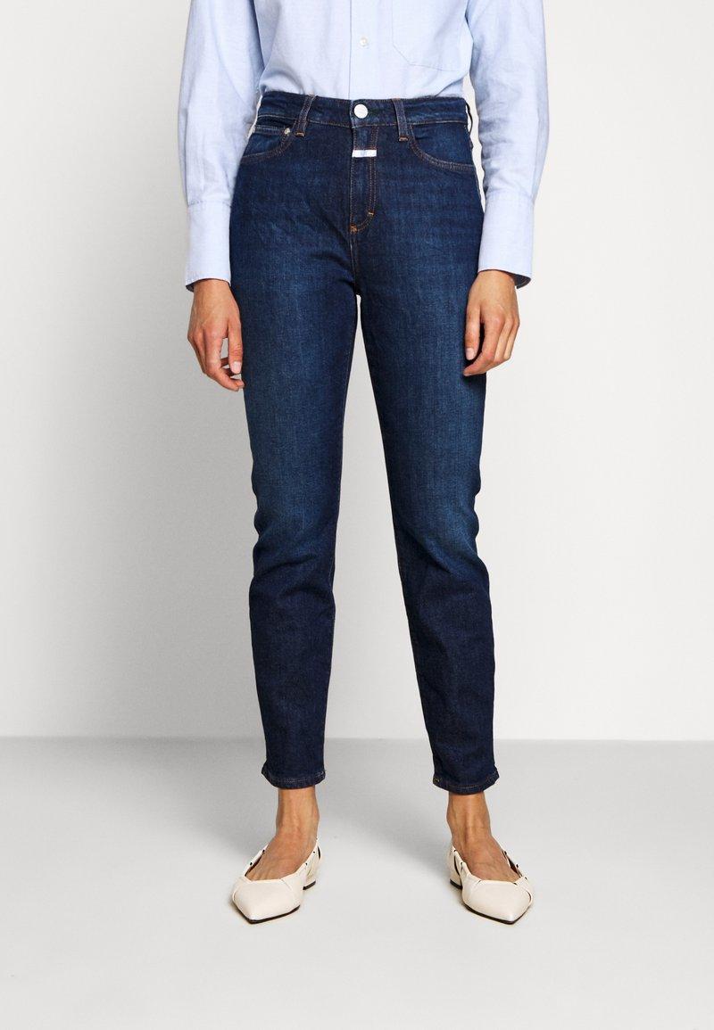 CLOSED - BAKER HIGH - Jeans slim fit - dark blue