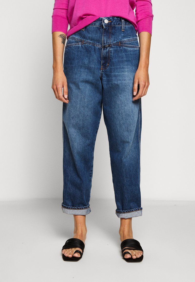 CLOSED - WORKER '85 - Jeans a sigaretta - blue