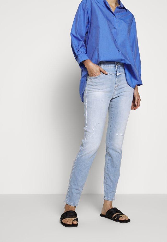 PUSHER - Skinny džíny - light blue
