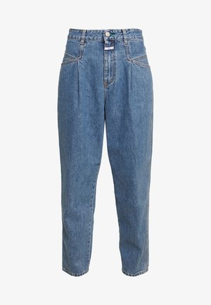 PEARL - Jeans a sigaretta - mid blue