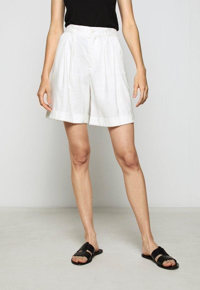 JANIE - Shorts - ivory