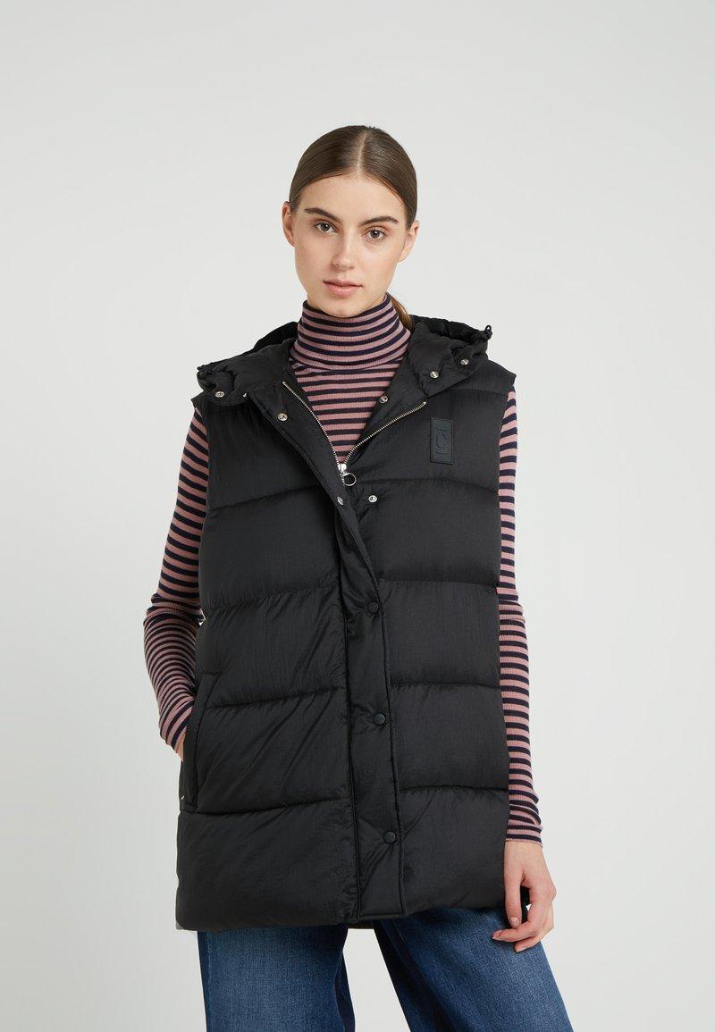 CLOSED - FREEPORT - Waistcoat - black