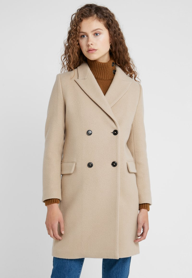 CLOSED - CROSS - Cappotto classico - honey