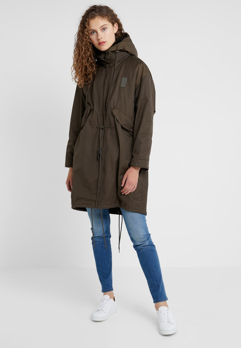 CLOSED - MITCHELL - Parka - sea tangle