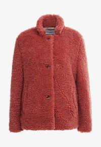 CLOSED - TEDDY - Zimní bunda - antique rose - 4