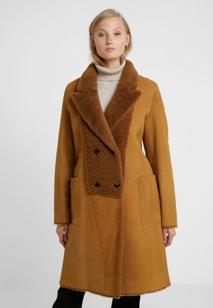 CROSS - Zimní kabát - tobacco