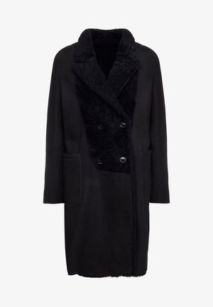 CROSS - Zimní kabát - black