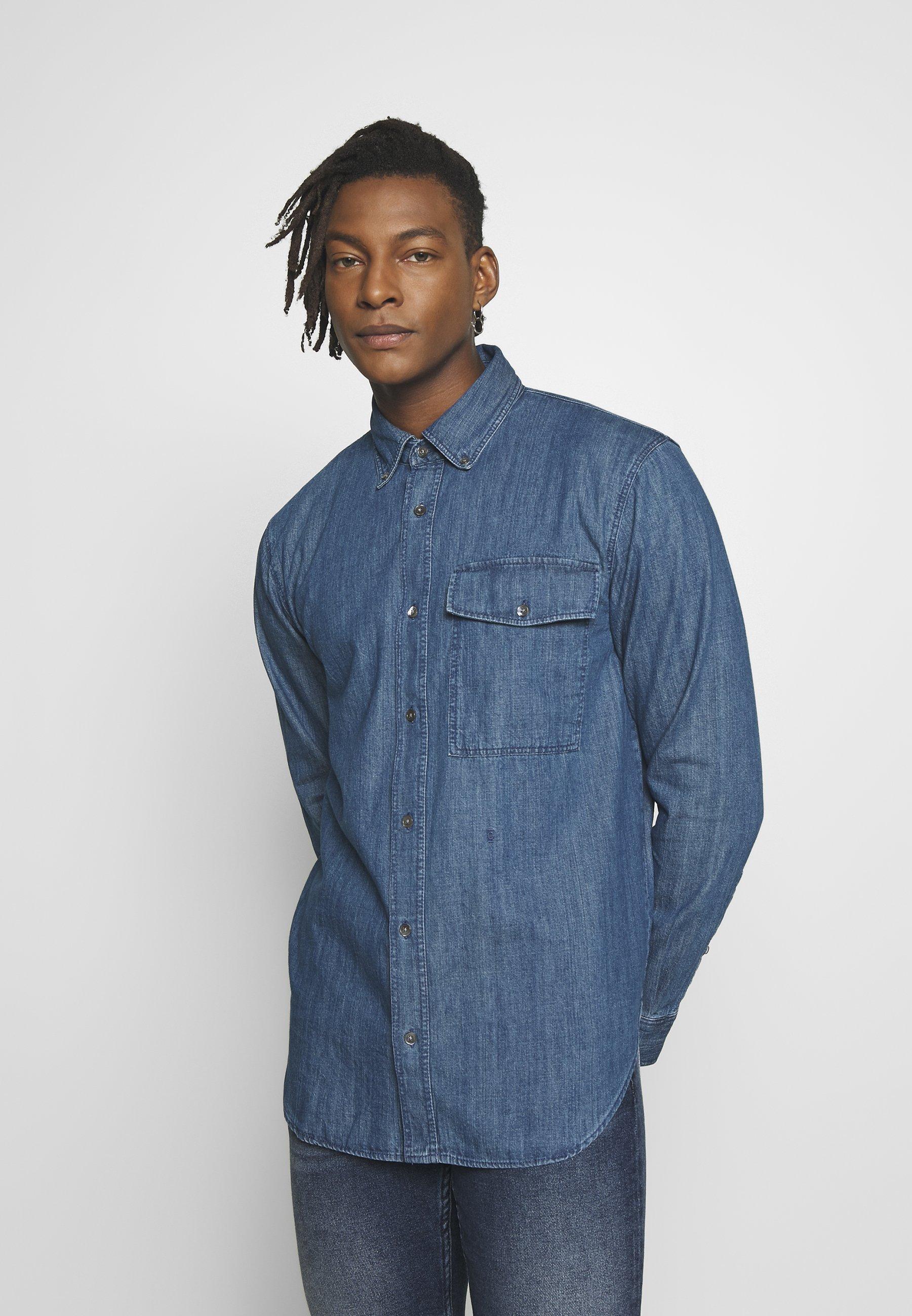 CLOSED RELAXED SHIRT - Koszula - blue