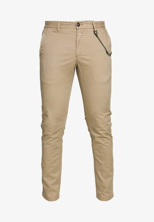 CLIFTON SKINNY - Chino - pebble