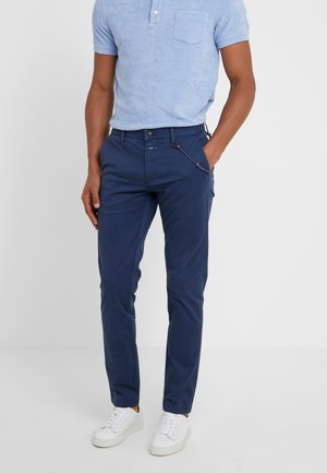CLIFTON SKINNY - Chino - nautical blue