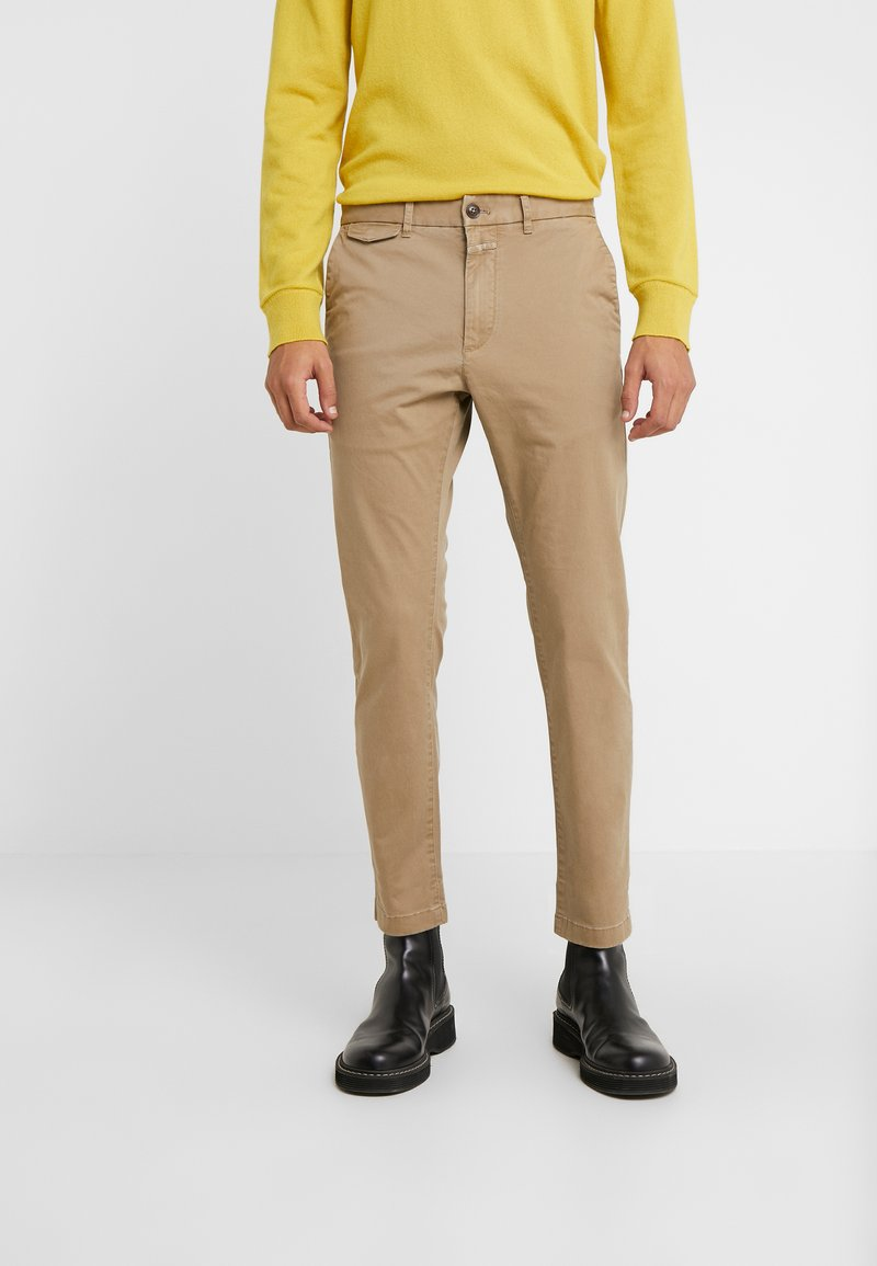 CLOSED - ATELIER CROPPED - Chino - tundra