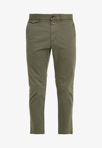 CLOSED - ATELIER CROPPED - Chino - deep woods - 4