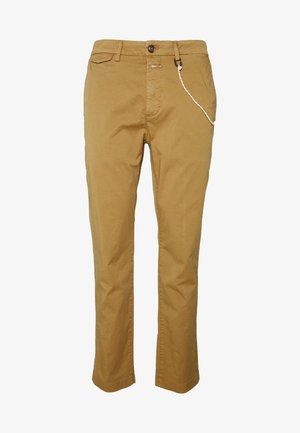 ATELIER CROPPED - Broek - golden oak