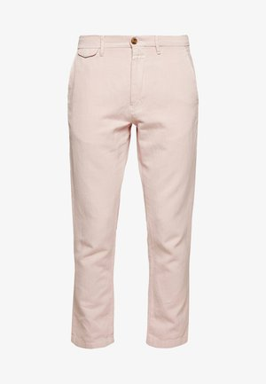 ATELIER CROPPED - Pantalones chinos - soft pink