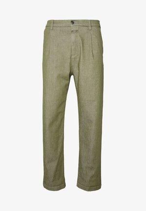 BOSTON RELAXED - Kalhoty - soft khaki