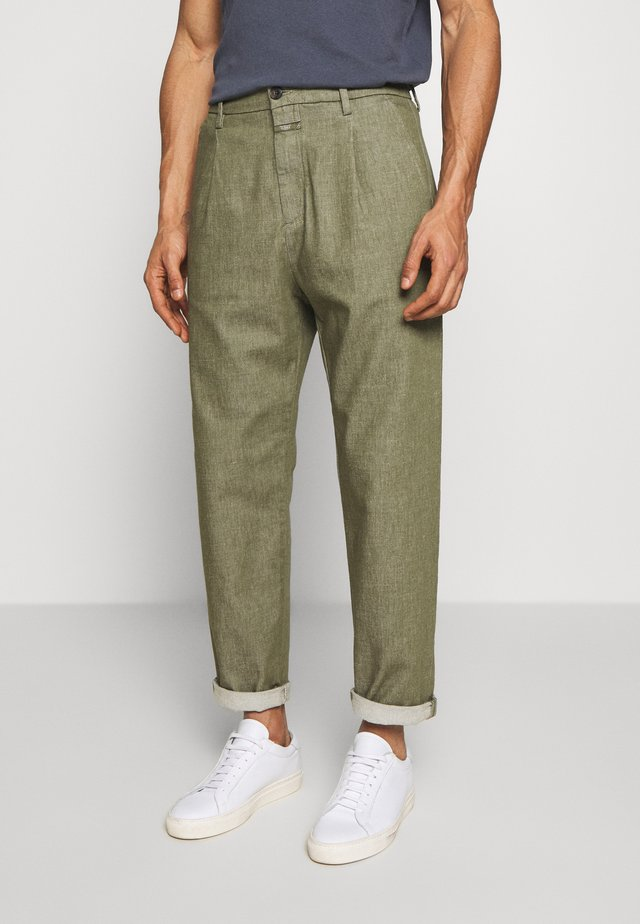 BOSTON RELAXED - Pantaloni - soft khaki