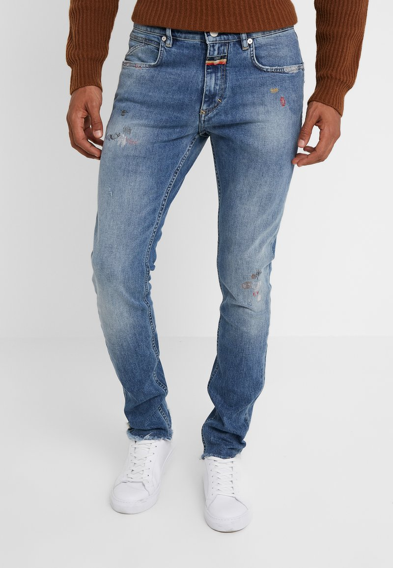 CLOSED - PIT SKINNY - Jeans Skinny Fit - mid-blue